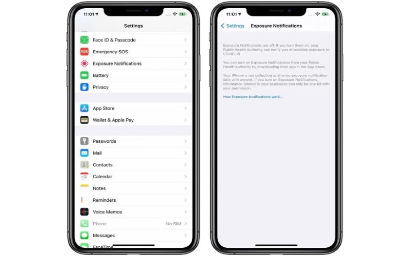iOS 14 beta 4 được bổ sung thêm tính năng API Exposeure Notification