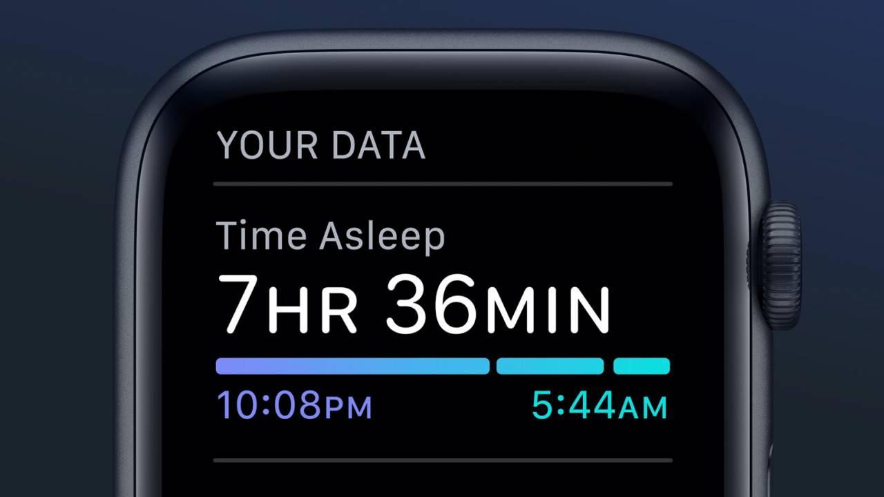 Phiên bản watchos 7 public beta theo giỏi giấc ngủ