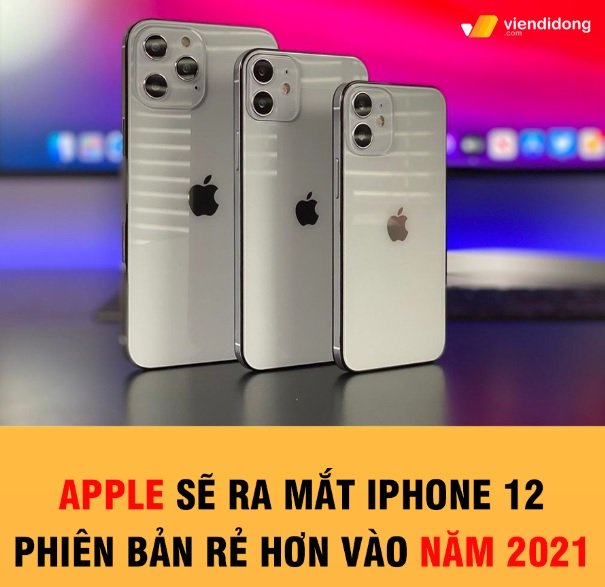 Tin đồn iPhone 12 có phiên bản rẻ vào năm 2021