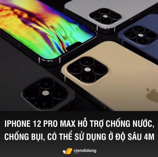 Tin đồn iphone 12 chống nước chống bụi