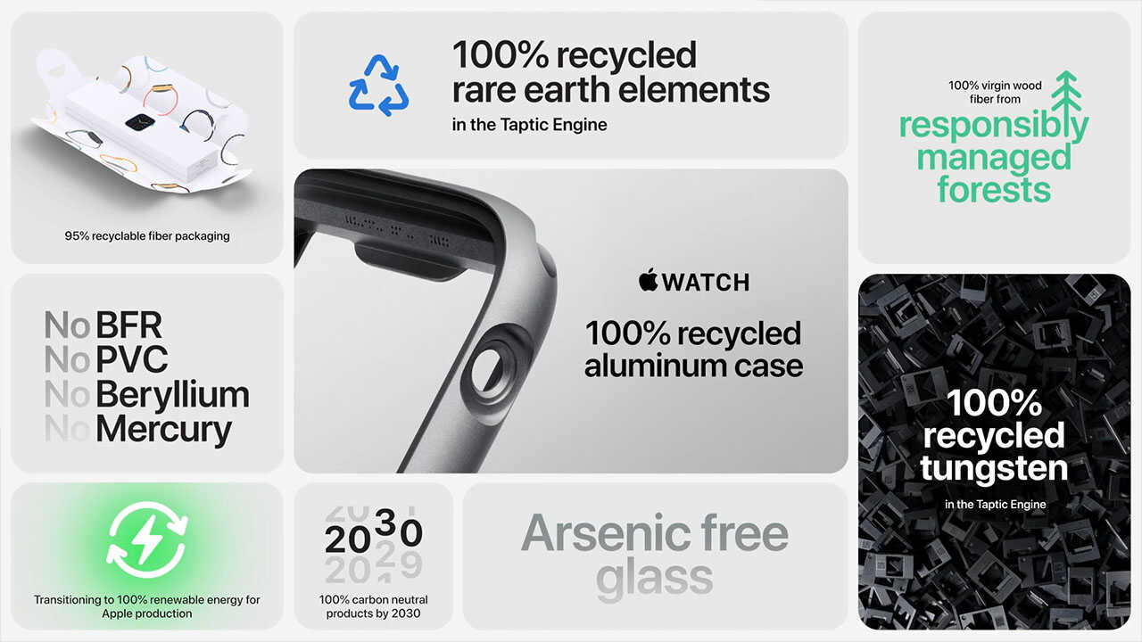chất liệu kim loại trên Apple Watch SE