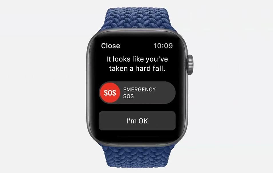 Chức năng gọi khẩn cấp trên Apple Watch SE