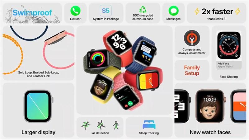 Những tính năng hấp dẫn trên Apple Watch SE 44mm Cell
