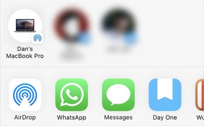 Cách chuyển dữ liệu iPhone bằng AirDrop, Messages, Mail