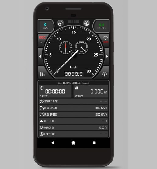 ứng dụng Android: GPS Speed Pro