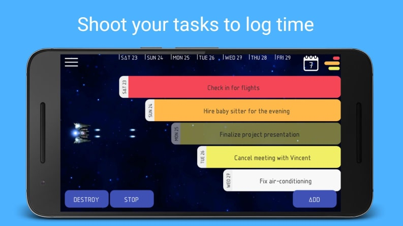ứng dụng Android: Kosmos - Work Time Tracker, Job Timesheet