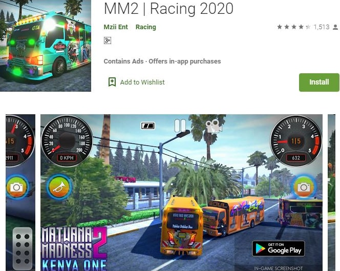 ứng dụng Android: Racing 2020