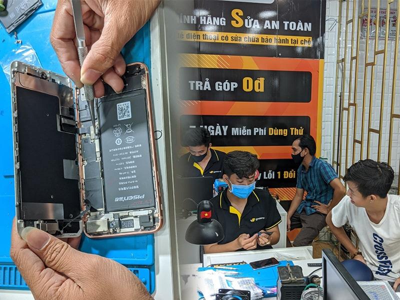 Thu pin iPhone cũ đổi pin Bago mới chính hãng, tiết kiệm đến 50% giá trị tại Viện Di Động