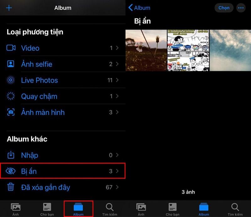 Thủ thuật ẩn ảnh và video trên iPhone giúp hạn chế lộ bí mật