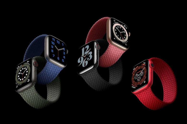 Apple Watch Series 6 nhiều màu sắc