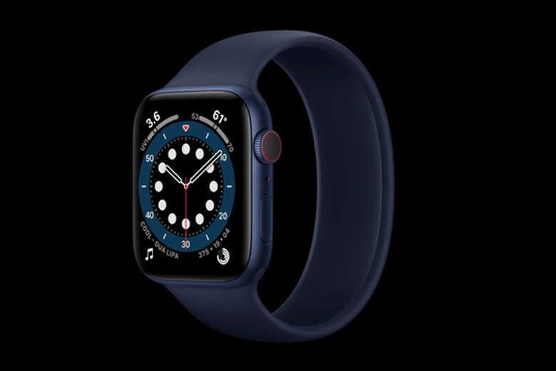 Apple Watch Series 6 màu xanh Navy