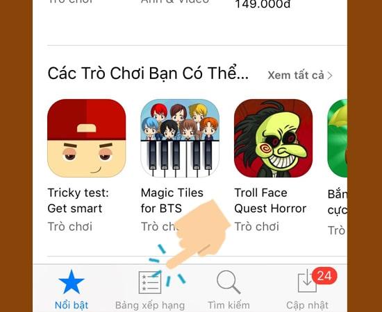 hướng dẫn tải game ứng dụng miễn phí