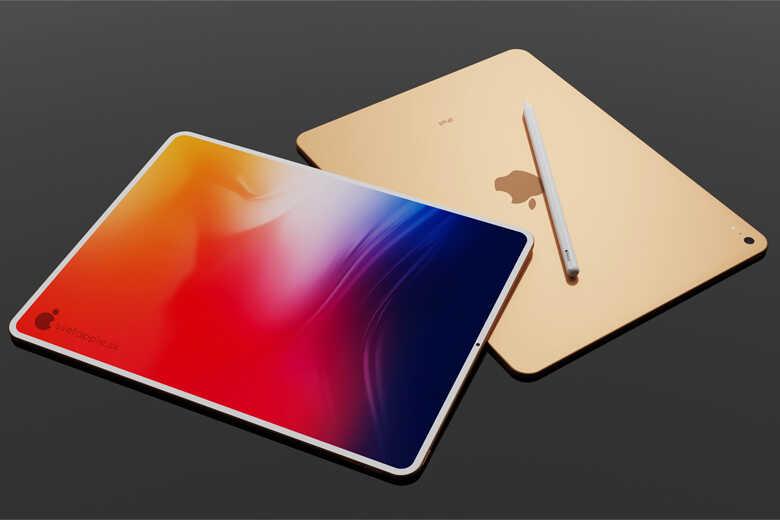 iPad Air 4 hàng công ty 2 mặt trước sau và bút