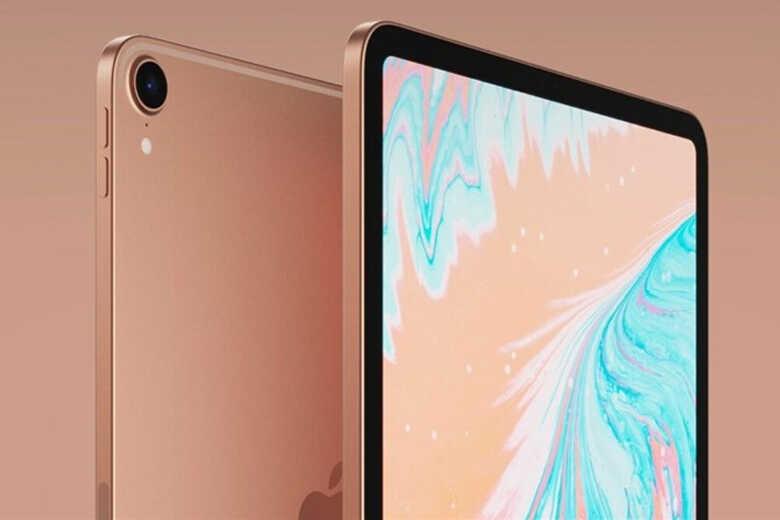 iPad Air 4 với 2 cạnh bên