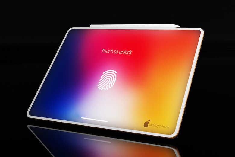 Bảo mật vân tay tên iPad Air 4