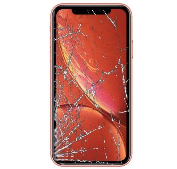 iphone xr bị vỡ màn hình