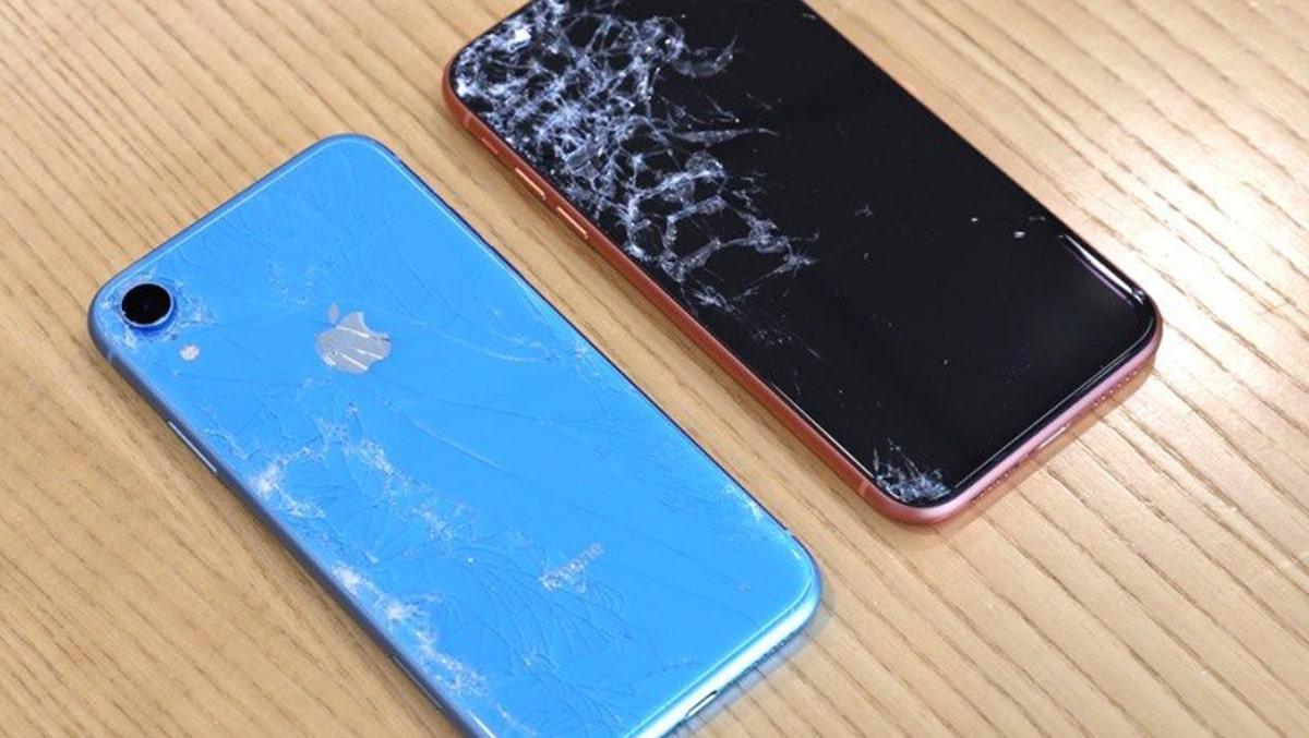 Xử lý màn hình iPhone XR bị vỡ