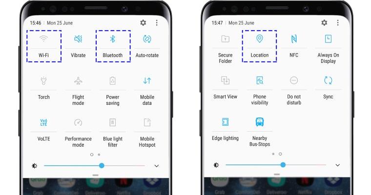 tiết kiệm pin trên smartphone Samsung bằng cách tắt wifi
