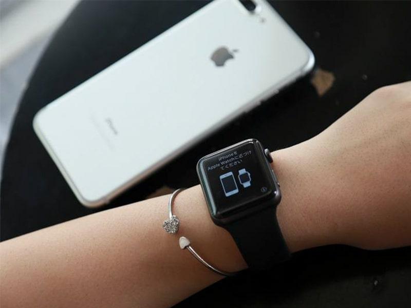 Apple Watch Series 3 38mm GPS Viền Nhôm Xám - Dây đen (MTF02) Chính hãng (Full VAT)