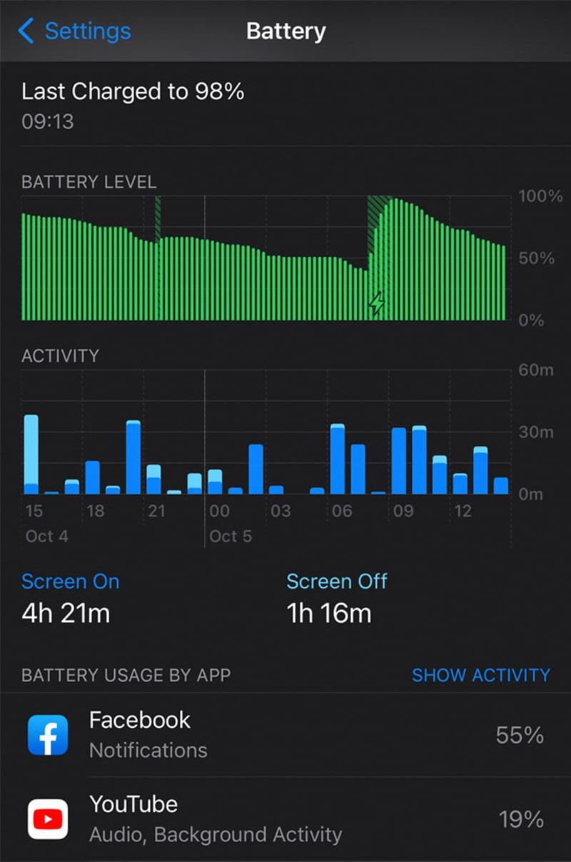 Cách khắc phục pin iPhone và iPad tụt nhanh ở hệ điều hành iOS 14 mới