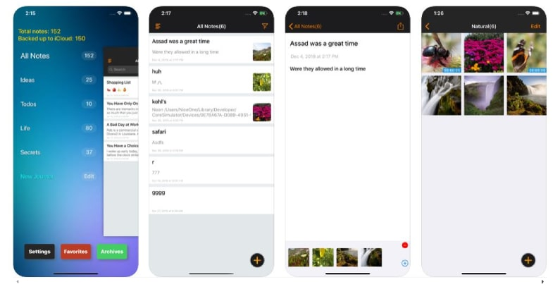 Locked Notes - Day Journal App (viết nhật ký)