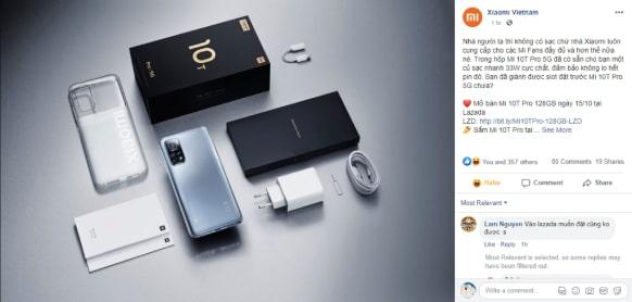 Xiaomi Việt Nam tiếp tục đăng tải nội dung cà khịa