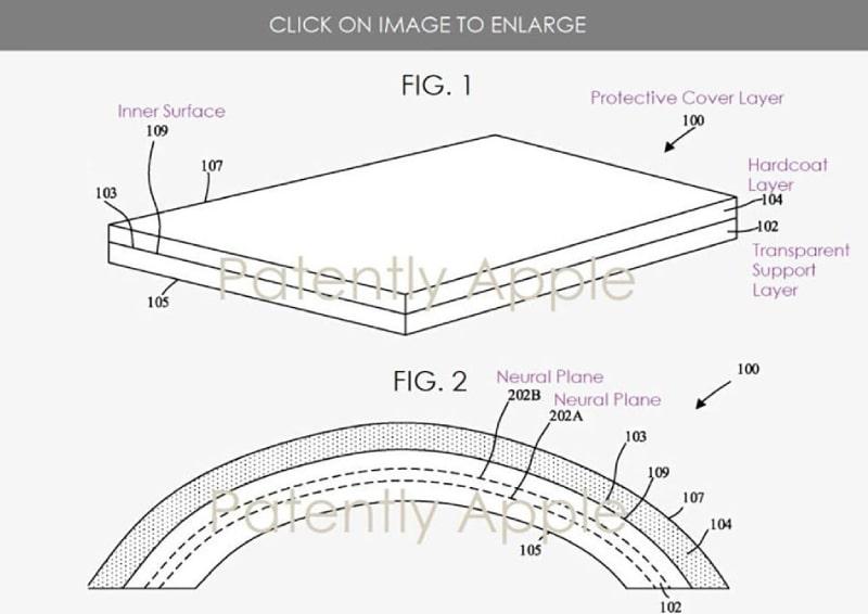 bằng sáng chế của Apple về nghiên cứu tạo ra màn hình gập