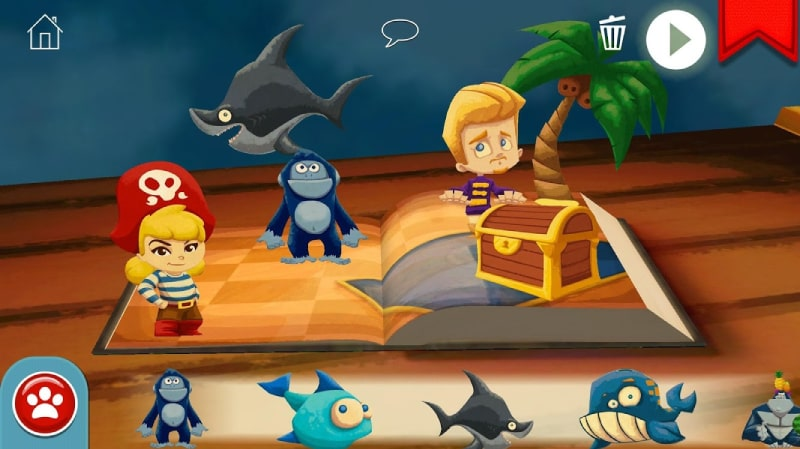 game StoryToys Pirate Princess