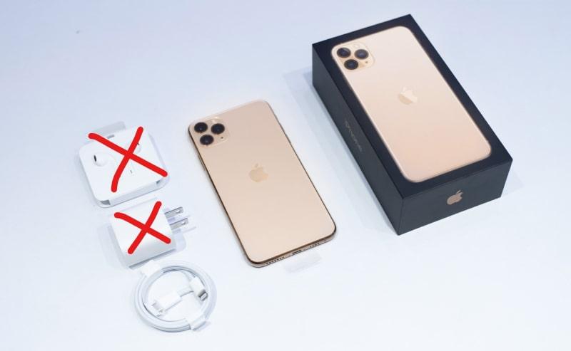 iphone 12 series Không có sạc và tai nghe đi kèm