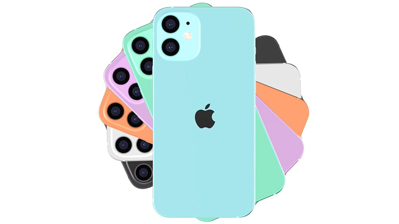 màu sắc của iPhone 12 series