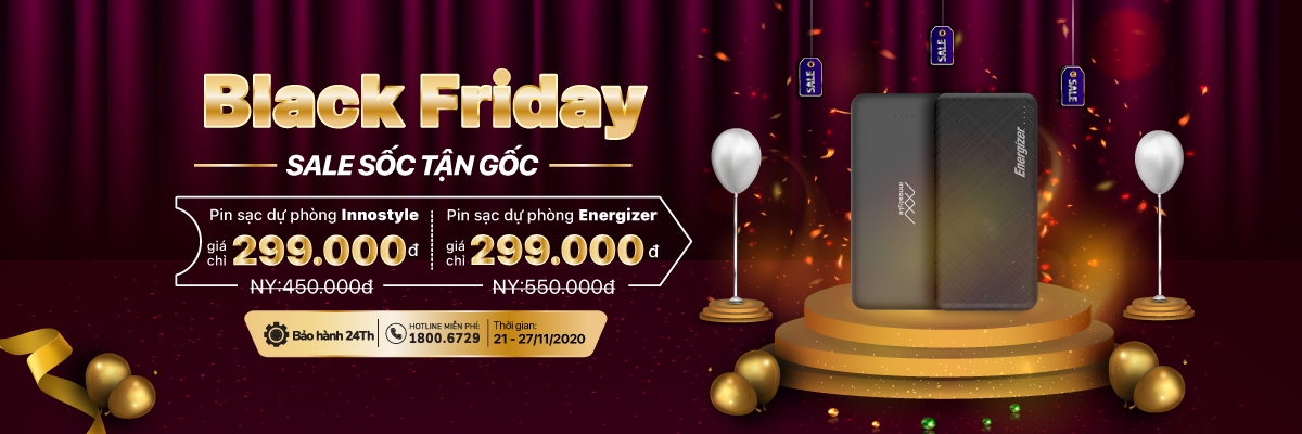 Black Friday – Sale sốc tận gốc