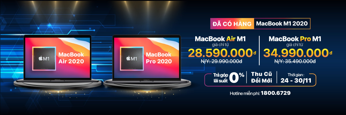 Macbook 2020 (Chip M1)