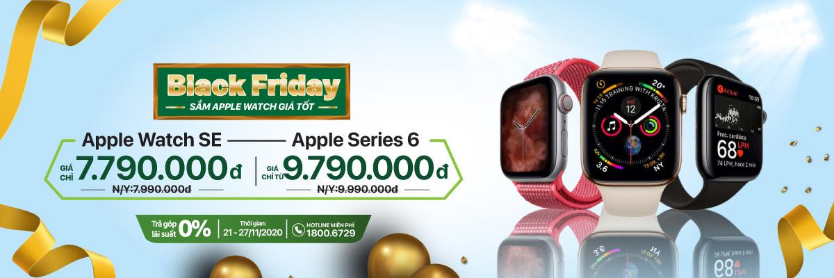 Black Friday – Apple Watch SE giá chỉ 7.790.000 – Apple Series 6 giá chỉ từ 9.790.000