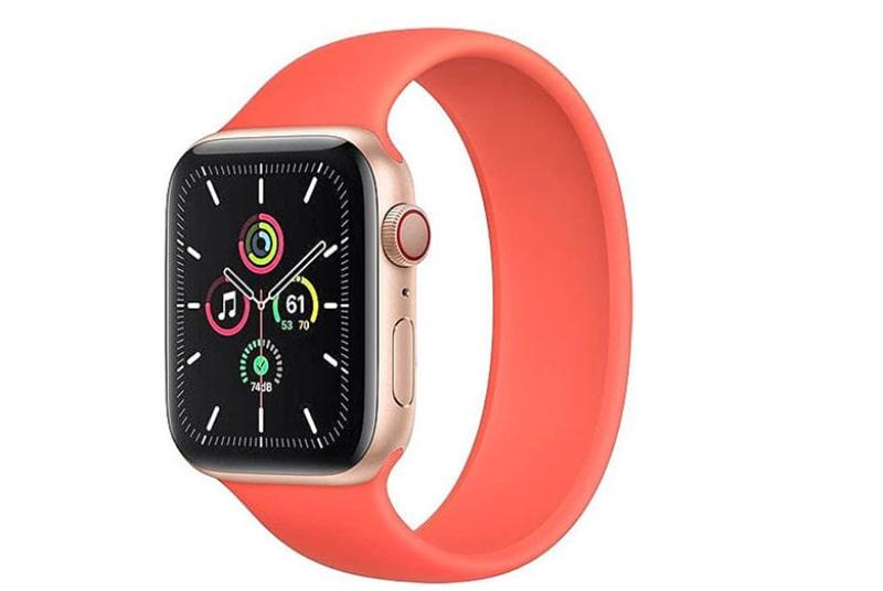 Apple Watch SE 44mm (GPS) viền nhôm vàng