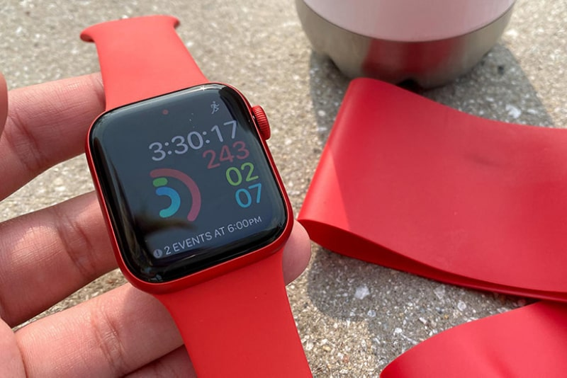 Apple Watch Series 6 44mm GPS dây cao su