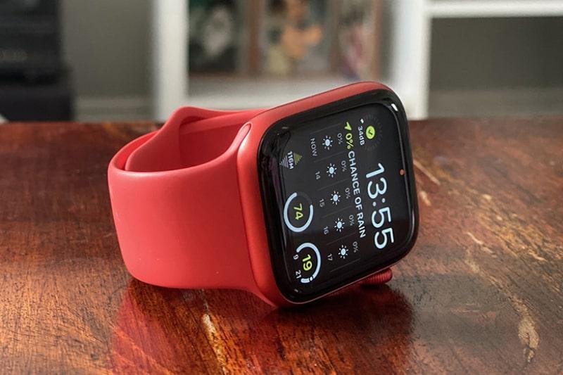 Apple Watch Series 6 44mm GPS viền nhôm đỏ