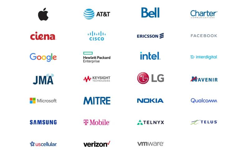 Danh sách các thành viên sáng lập Next G Alliance - liên quân 6G