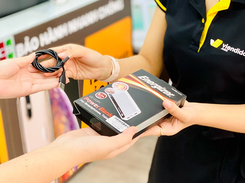Drive Green - Đổi Phụ kiện công nghệ cũ lấy Pin sạc dự phòng Energizer mới