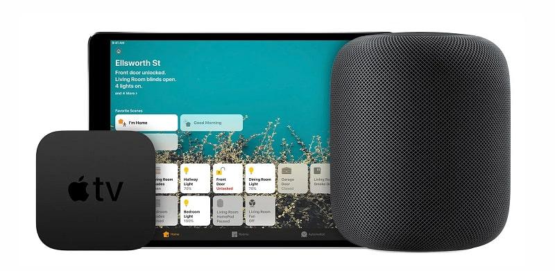 HomePod làm đầu ra âm thanh cho Apple TV 4K