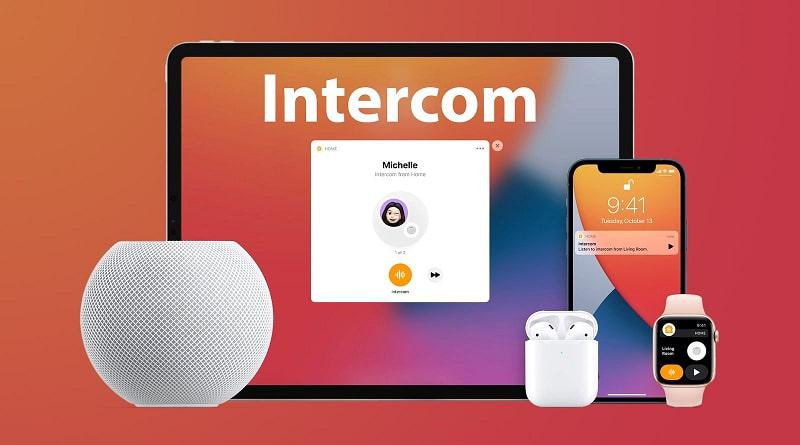 Cập nhật iOS 14.2 - Intercom - Hỗ trợ liên lạc nội bộ