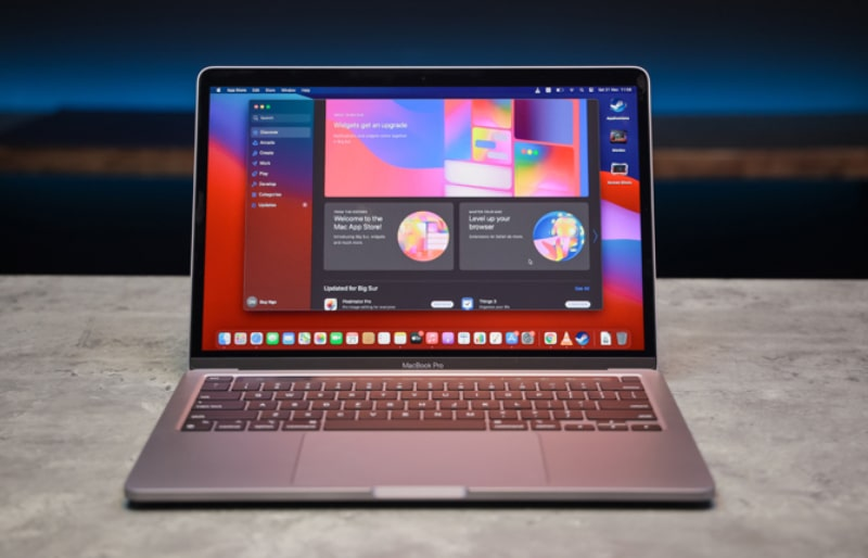 Macbook chạy Chip M1