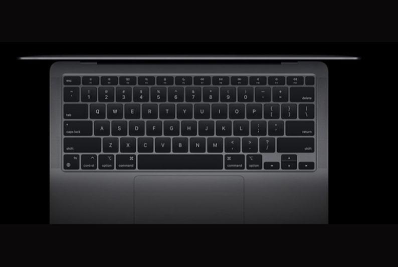 Bàn phím Magic Macbook Air 13 inch 2020 M1 8GB/256GB (Chip ARM)