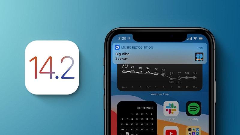 iOS 14.2 khắc phục một số lỗi