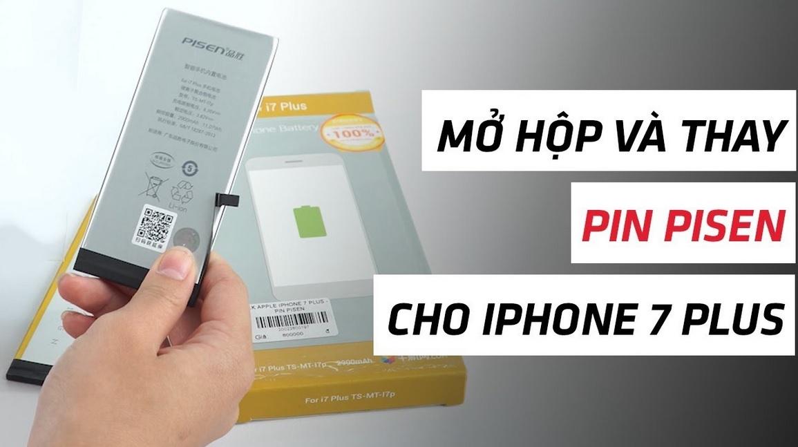Vài điều khi thay pin iPhone 7 Plus bạn nên biết