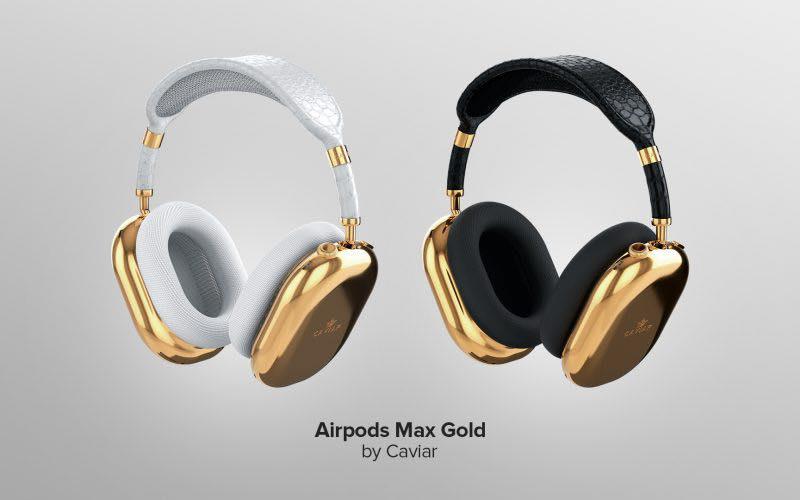 Xuất hiện phiên bản limited AirPods Max mạ vàng nguyên chất