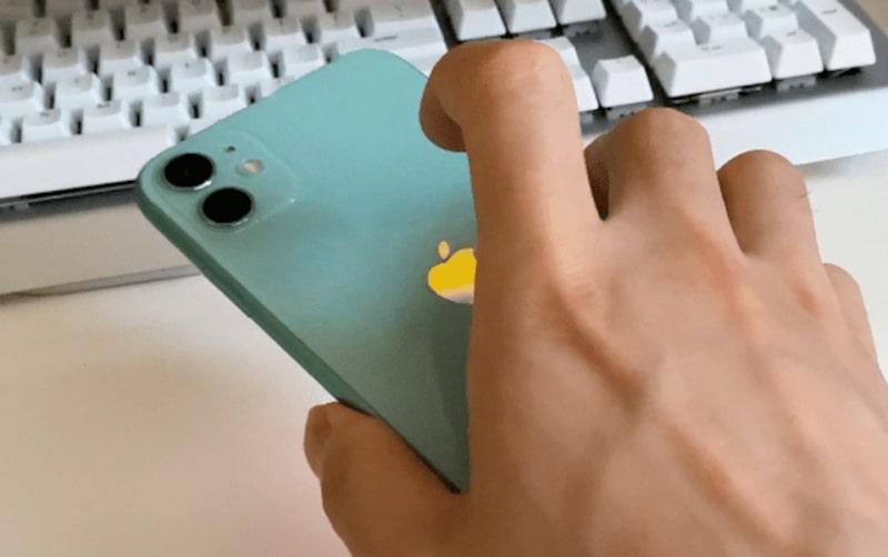 Cách chụp ảnh màn hình trên iPhone bằng cách chạm tay vào mặt lưng thiết bị
