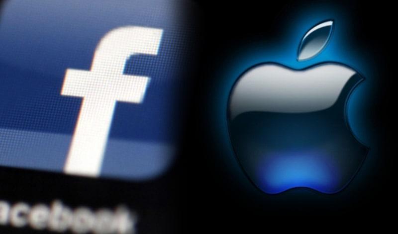 Facebook khẩu chiến lớn với Apple