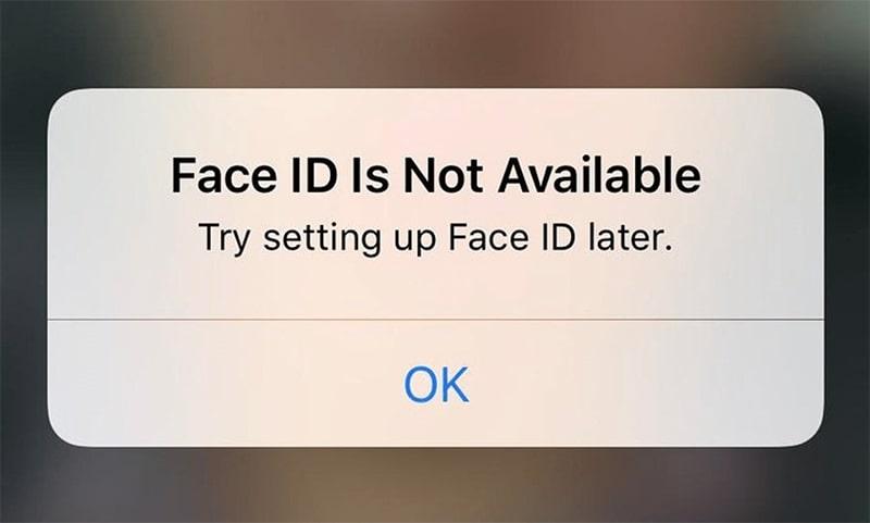 Sửa lỗi Face ID không nhận diện trên iPhone Xr Sua loi Face ID khong nhan dien tren iPhone viendidong 2