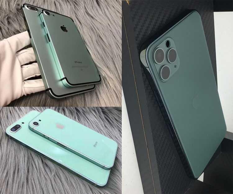Độ vỏ iPhone mới toanh