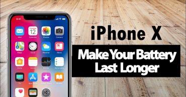 Cách để pin iPhone X kéo dài tuổi thọ